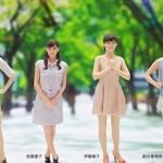 セントフォースの人気女子アナ4人が3Dフィギュアになってしまった!中田有紀、皆藤愛子、伊藤綾子、新井恵理那