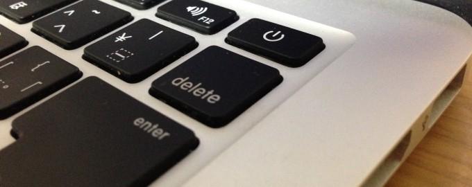 deleteキー