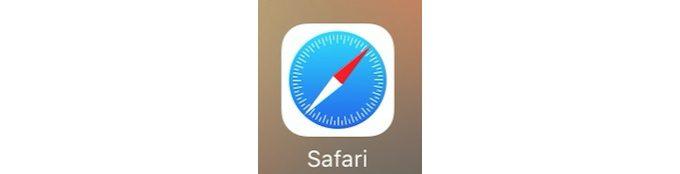 iPhoneのSafari